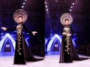 Thời trang - Thanh Hằng trình diễn áo dài dát vàng 1,2 tỷ đồng
