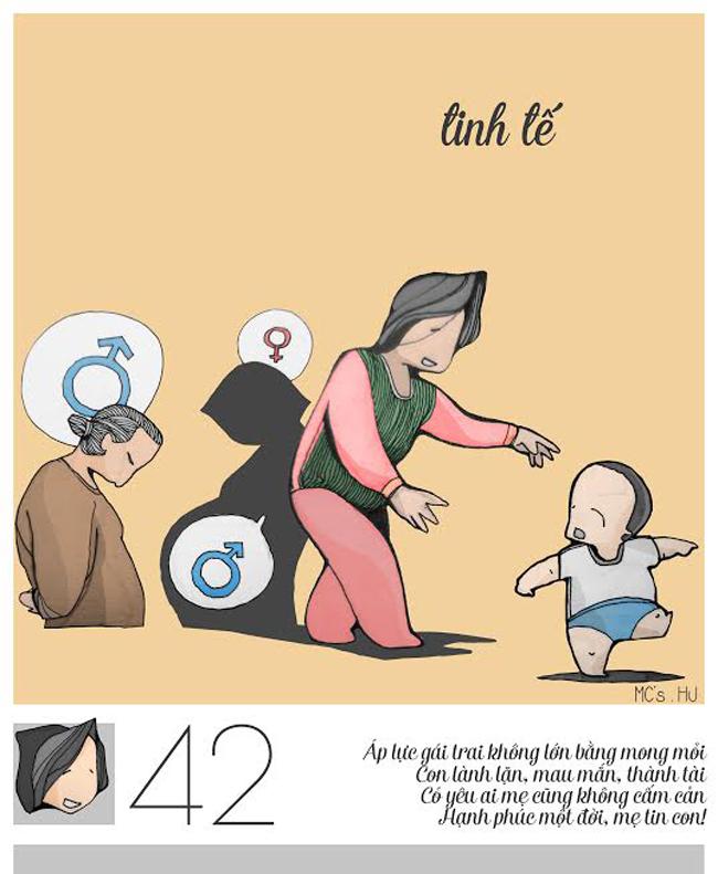 """35 – 42 tuổi: Khung tuổi này họ học cách làm mẹ, nuôi con, chịu áp """"sinh con nối dõi tông đường"""""""