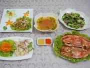Bếp Eva - Đãi chị em bữa cơm 20-10 nhiều hải sản