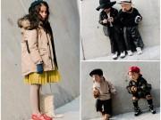 """Thời trang - Phong cách """"chất phát ngất"""" của các nhóc tì Hàn Quốc"""