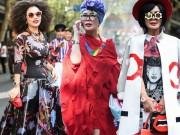 Thời trang - Lóa mắt vì cách ăn mặc khác lạ của các quý cô Thượng Hải