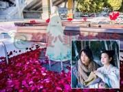 """Làng sao - """"Dương Quá"""" Trần Hiểu thuê du thuyền cầu hôn bạn gái"""