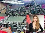 Làng sao - Sân khấu nhạc của Thái Y Lâm sụp khiến 1 người chết