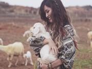 """Bích Phương Idol hóa """"cô gái chăn cừu"""" xinh đẹp"""