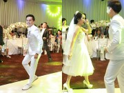 """Tú Vi - Văn Anh nhảy nhót tưng bừng trong đám cưới  """" ngôn tình """""""