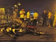 Taxi gây tai nạn kinh hoàng trên cầu vượt: 1 người đã tử vong