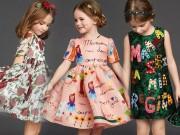 Thời trang - Mê mẩn váy siêu xinh cho bé gái của Dolce & Gabbana