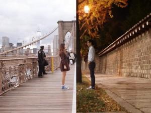 Bộ ảnh Yêu xa cảm động của cặp đôi cách nhau hàng ngàn km