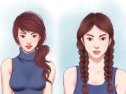 Làm đẹp - 10 kiểu tóc đi học cực xinh yêu bạn chỉ mất 2 phút để làm