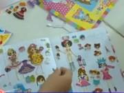 Cảnh báo miếng dán hoạt hình Trung Quốc có thể gây ung thư