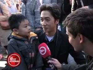 Ấm lòng bài phỏng vấn cặp bố con gốc Việt về khủng bố ở Pháp