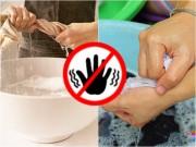 5 sai lầm các mẹ thường mắc phải khi giặt quần áo bằng tay
