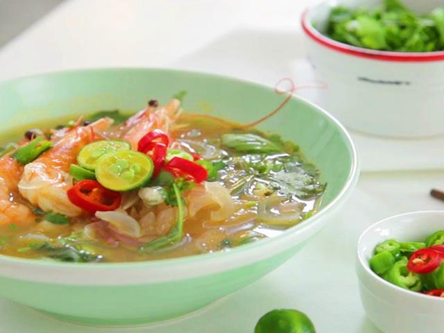 Miến hải sản thơm ngon hấp dẫn-Bếp Eva