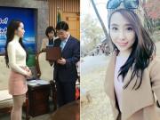 Quỳnh Nga trở thành Đại sứ Du lịch Y tế của TP Daejeon Hàn Quốc