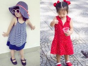 """Thời trang - Thời trang xinh yêu của các """"công chúa"""" nhà sao Việt"""