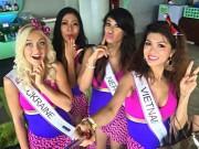 Oanh Yến lọt top 5 bikini cuộc thi PanContinental International 2015