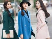 Thời trang - 4 gam màu hot nhất cho áo khoác dáng dài đón đông