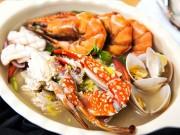 Bếp Eva - Canh cải thảo hải sản ngon miệng