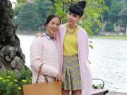 Làng sao - Jessica Minh Anh lần đầu giới thiệu mẹ