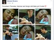 Ngắm hình ảnh đầu tiên của con gái Marian Rivera