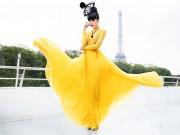 Hậu trường - Jessica Minh Anh hạnh phúc khi trở lại quê hương
