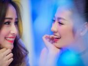 """Làng sao - Á hậu Tú Anh """"lườm yêu"""" Mai Phương Thúy"""