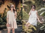 Thời trang - Á hậu Lệ Hằng gợi ý cách chọn váy suông đẹp và tiện ích