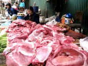 Mua sắm - Giá cả - Người tiêu dùng bắt đầu sợ... thịt lợn