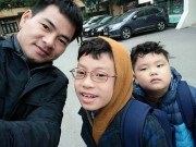 Làm mẹ - Ảnh đời thường của con trai nhà Xuân Bắc có 16 nghìn fan