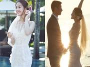Làng sao - Á hậu Diễm Trang lần đầu khoe chồng đại gia trước đám cưới