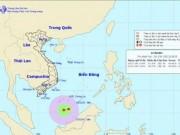 Tin tức - Xuất hiện vùng áp thấp nhiệt đới trên biển Đông
