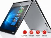 Eva Sành điệu - Lenovo tung bộ đôi laptop Windows 10 chuyển đổi đa chế độ