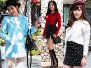 Mãn nhãn ngắm bạn gái Sài Gòn mặc đẹp đi chơi Noel