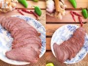 Thịt bò kho khô thơm ngon, lạ miệng