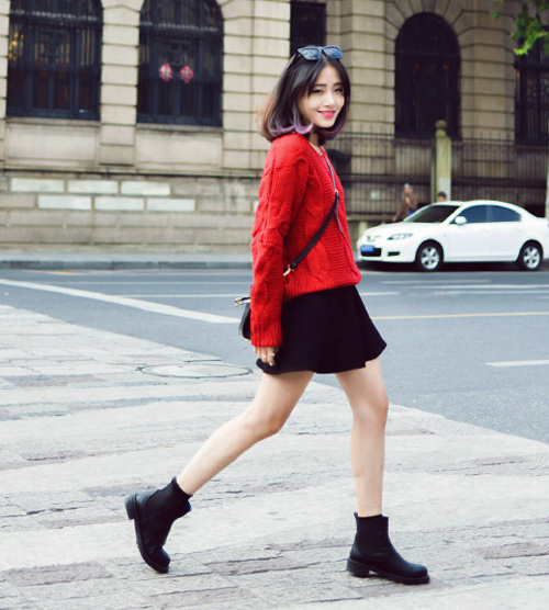 Ngày đại hàn cần lắm một chiếc áo len đỏ!