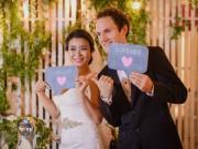 Eva Yêu - Đám cưới đẹp như cổ tích của cô gái Việt lấy chồng Tây