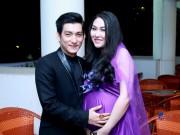 Làng sao - Phi Thanh Vân khoe bụng bầu sắp sinh bên chồng