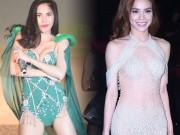 Thời trang - Sao mặc xấu: Hồ Ngọc Hà gây tranh cãi khi mặc quá bạo