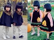 Thời trang - Hai công chúa sinh đôi đáng yêu nhà MC Huyền Ny