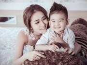 Làm mẹ - Diệp Bảo Ngọc: Ly hôn vẫn dạy con biết yêu thương bố ruột