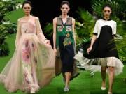 Tuần lễ thời trang: Xanh mướt mùa hè miền nhiệt đới
