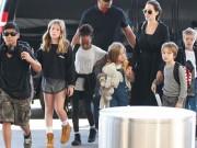 Làng sao - Bọn trẻ nhà Angelina Jolie - Brad Pitt van xin mẹ quay lại với bố