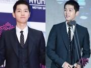 Song Hye Kyo vắng bóng, Song Joong Ki nhận giải thưởng lớn