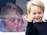 """""""Chết cười"""" với màn chào tạm biệt Canada của Hoàng tử nhí George"""