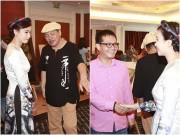 Làng sao - Nhạc sĩ  Trần Tiến, Trung Hiếu trẻ trung đến chúc mừng Lương Giang