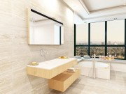 Tin tức nhà đẹp - 8 ý tưởng giúp phòng tắm nhỏ thêm đẹp
