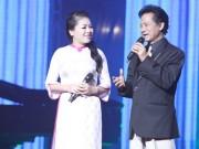 Làng sao - Anh Thơ nể phục Chế Linh vì hơn 70 tuổi vẫn hát live quá tốt