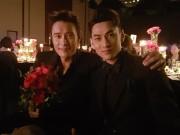 Isaac khoe ảnh dự tiệc tối cùng tài tử Lee Byung Hun tại LHP Busan