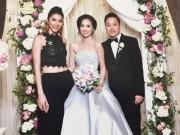 Ngọc Quyên dự đám cưới của Đinh Ngọc Diệp - Victor Vũ tại Mỹ