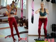 Làm đẹp - Cụ bà 71 tuổi vẫn tập gym mỗi ngày khiến thanh niên phải ngả mũ ngưỡng mộ